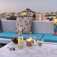 Отель Aria Plaka Residence Афины бассейн