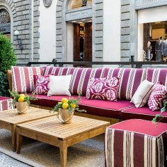 Отель Helvetia & Bristol Firenze Starhotels Collezione Флоренция бассейн фото 2