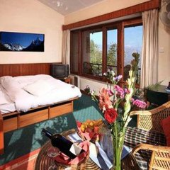 Отель Dhulikhel Lodge Resort Непал, Дхуликхел - отзывы, цены и фото номеров - забронировать отель Dhulikhel Lodge Resort онлайн комната для гостей фото 2
