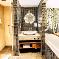Отель Cocoon Stachus Германия, Мюнхен - 2 отзыва об отеле, цены и фото номеров - забронировать отель Cocoon Stachus онлайн ванная фото 2