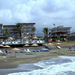 Club Casmin Hotel Турция, Искендерун - отзывы, цены и фото номеров - забронировать отель Club Casmin Hotel онлайн пляж фото 2