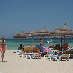 Отель Seabel Rym Beach Djerba Тунис, Мидун - отзывы, цены и фото номеров - забронировать отель Seabel Rym Beach Djerba онлайн пляж фото 2