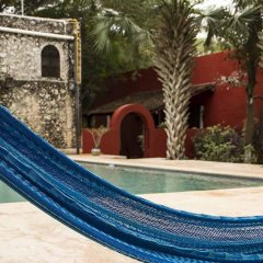 Отель Hacienda Santa Cruz бассейн