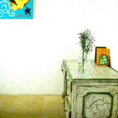 Mezcalito Blue Hostel сейф в номере