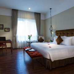 Hanoi La Siesta Hotel & Spa комната для гостей