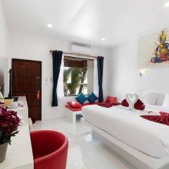 Отель Crystal Bay Beach Resort комната для гостей фото 7