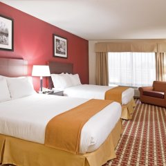 Отель Holiday Inn Express Hotel & Suites Columbus Univ Area - Osu США, Колумбус - отзывы, цены и фото номеров - забронировать отель Holiday Inn Express Hotel & Suites Columbus Univ Area - Osu онлайн комната для гостей фото 5
