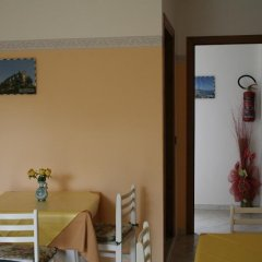 Отель Bed and Breakfast Cirelli Скалея сейф в номере