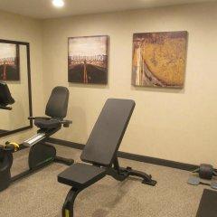 Отель Comfort Suites Hilliard Хиллиард фитнесс-зал