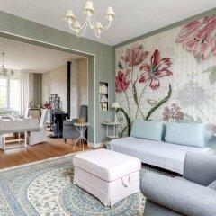 Отель Bleu Agapanthe Chambres d'hotes Франция, Сомюр - отзывы, цены и фото номеров - забронировать отель Bleu Agapanthe Chambres d'hotes онлайн комната для гостей фото 2