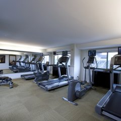 Отель Crowne Plaza Columbus-Downtown Колумбус фитнесс-зал