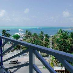 Отель Sol Caribe Sea Flower Колумбия, Сан-Андрес - отзывы, цены и фото номеров - забронировать отель Sol Caribe Sea Flower онлайн балкон