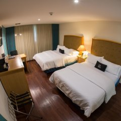 Отель Riazor Aeropuerto Мексика, Мехико - отзывы, цены и фото номеров - забронировать отель Riazor Aeropuerto онлайн комната для гостей фото 2