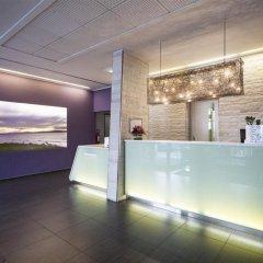 Отель Arli Business And Wellness Бергамо интерьер отеля