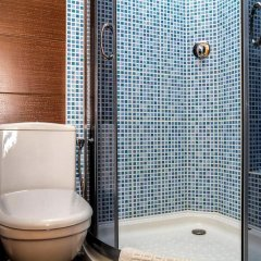 Гостиница Dniprovskiy Dvir ванная фото 2
