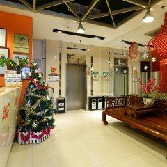 Отель 4th Zhongshan Road Garden Inn интерьер отеля