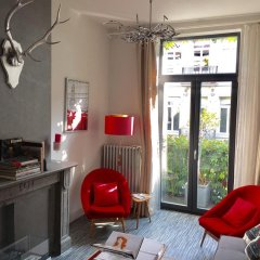 Отель B&b D&f Suites Brussels Брюссель комната для гостей