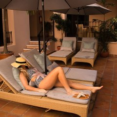 Отель Acanto Hotel and Condominiums Playa del Carmen Мексика, Плая-дель-Кармен - отзывы, цены и фото номеров - забронировать отель Acanto Hotel and Condominiums Playa del Carmen онлайн бассейн фото 3