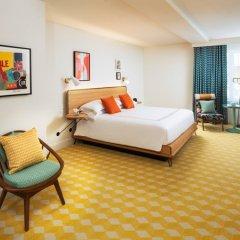 Отель The Confidante - in the Unbound Collection by Hyatt 4* Стандартный номер с различными типами кроватей фото 25