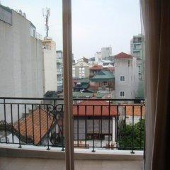 Отель Escenta Boutique Residence Hanoi балкон