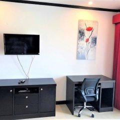 Апартаменты Top Floor Spacious Studio Паттайя удобства в номере фото 2