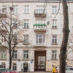 Апартаменты Blue Happy Apartment Варшава вид на фасад