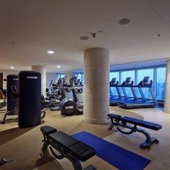 Отель Hilton Baku Азербайджан, Баку - 13 отзывов об отеле, цены и фото номеров - забронировать отель Hilton Baku онлайн фитнесс-зал фото 3