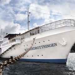 Отель Mälardrottningen Стокгольм приотельная территория