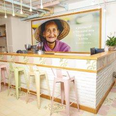 Отель Lief Mojo Saigon интерьер отеля
