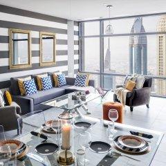 Отель Dream Inn Dubai Apartments - Index Tower ОАЭ, Дубай - отзывы, цены и фото номеров - забронировать отель Dream Inn Dubai Apartments - Index Tower онлайн комната для гостей фото 4