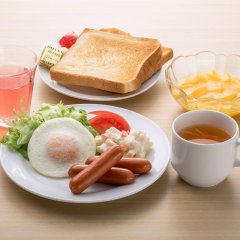 Отель Sotetsu Fresa Inn Nihombashi-Ningyocho питание фото 3