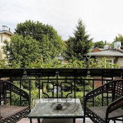 Отель Apartamenty Mój Sopot - Parkowa Art Сопот балкон