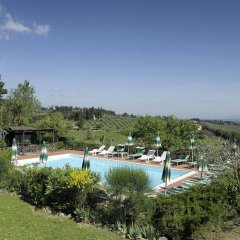 Отель Villa Belvedere Италия, Сан-Джиминьяно - отзывы, цены и фото номеров - забронировать отель Villa Belvedere онлайн бассейн