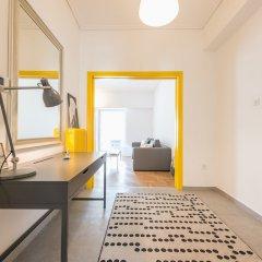 Апартаменты Athens Penthouse Paradise Apartment комната для гостей