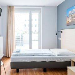 Отель A&O Wien Stadthalle Австрия, Вена - 11 отзывов об отеле, цены и фото номеров - забронировать отель A&O Wien Stadthalle онлайн комната для гостей фото 4