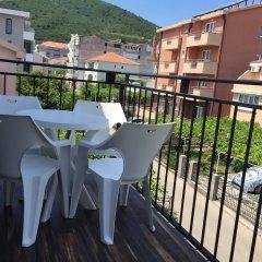 Отель Casablanca Apartments Черногория, Будва - отзывы, цены и фото номеров - забронировать отель Casablanca Apartments онлайн балкон