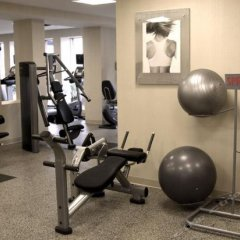 Отель Minneapolis Airport Marriott Блумингтон фитнесс-зал фото 2