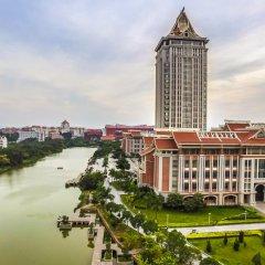 Отель Luminous Jade Hotel Китай, Сямынь - отзывы, цены и фото номеров - забронировать отель Luminous Jade Hotel онлайн балкон