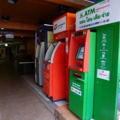 Отель Sawasdee Khaosan Inn Бангкок банкомат