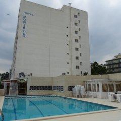 Отель Mont-Rosa бассейн