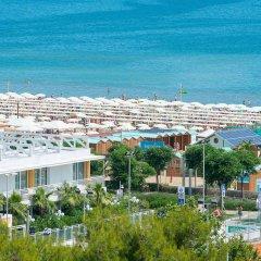 Hotel Cristallo пляж
