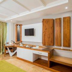 Отель Crystal Waterworld Resort And Spa Богазкент комната для гостей фото 5