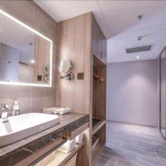 Отель Royal Logoon Hotel - Xiamen Китай, Сямынь - отзывы, цены и фото номеров - забронировать отель Royal Logoon Hotel - Xiamen онлайн ванная фото 2