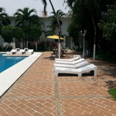 Отель Olinalá Diamante Мексика, Акапулько - отзывы, цены и фото номеров - забронировать отель Olinalá Diamante онлайн бассейн фото 3