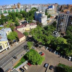 Апартаменты Moscow city center балкон