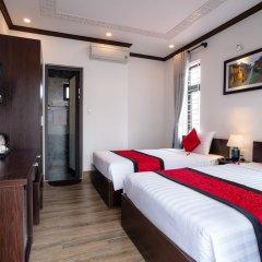 Отель The Vinci Villa Хойан комната для гостей