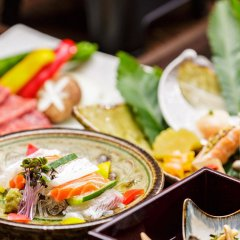 Отель Yufuin Ryokan Seikoen Хидзи питание фото 3