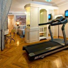 Отель Grand Hotel Savoia Италия, Генуя - 3 отзыва об отеле, цены и фото номеров - забронировать отель Grand Hotel Savoia онлайн фитнесс-зал фото 2