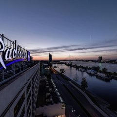 Radisson Blu Daugava Hotel Рига пляж