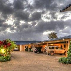 Отель Tropixx Motel & Restaurant парковка
